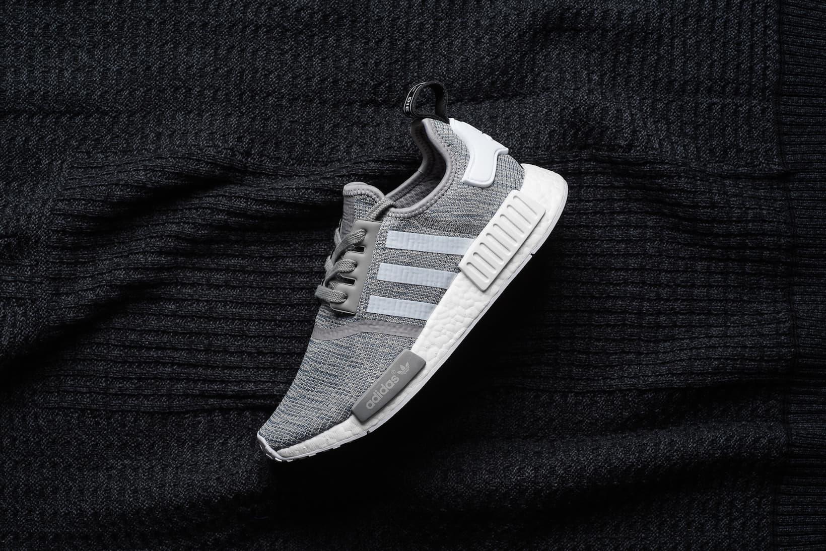 近賞 adidas Originals NMD_R1「Solid Grey」配色設計