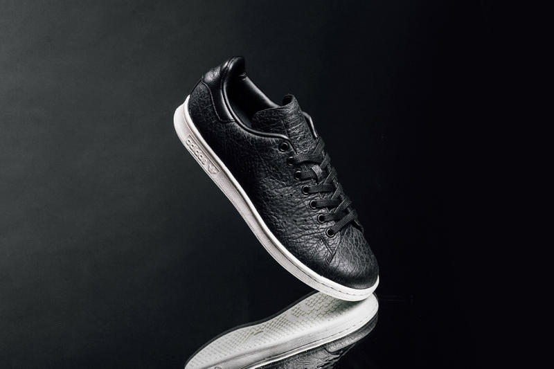adidas Originals Stan Smith 全新黑色皮革版本