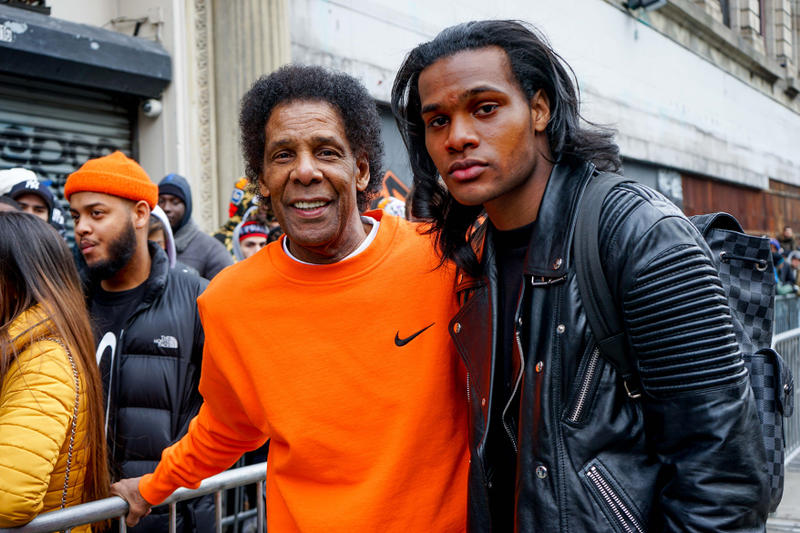 A$AP Bari Harlem VLONE Nike Pop-Up