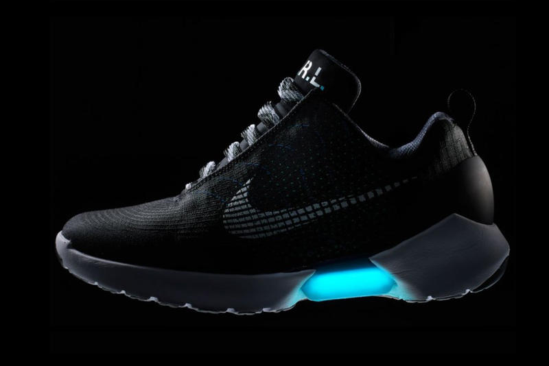 Nike HyperAdapt Self-Lacing Sneaker Dissection
