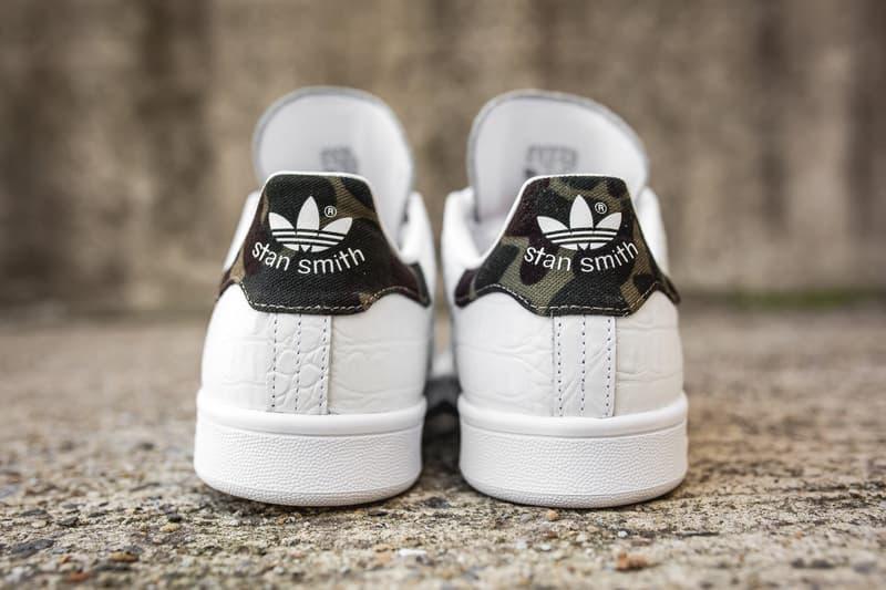quality design ec87c 2ac6c adidas Originals Stan Smith Camo Snakeskin