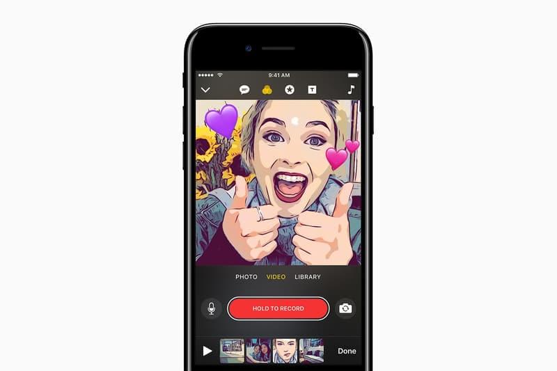 Apple iOS Clips App