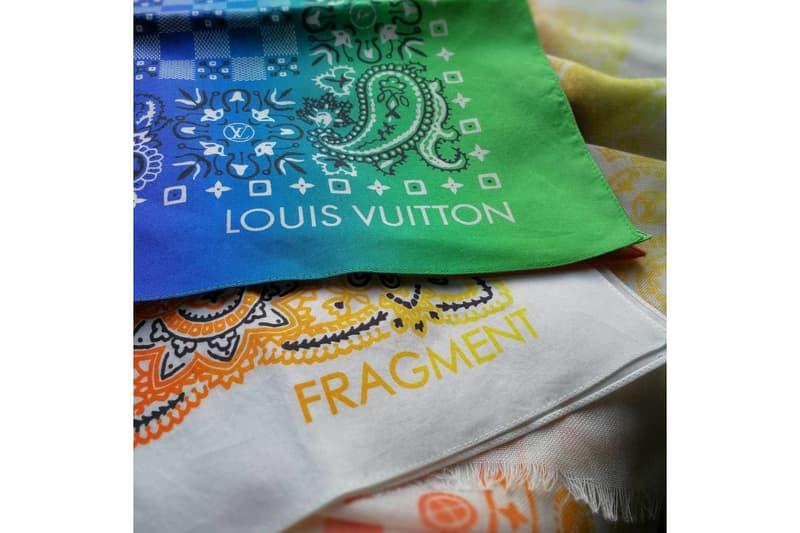 Hiroshi Fujiwara & fragment design x Louis Vuitton Bandanas
