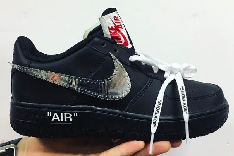 Virgil Abloh OFF-WHITE x Nike Air Force 1
