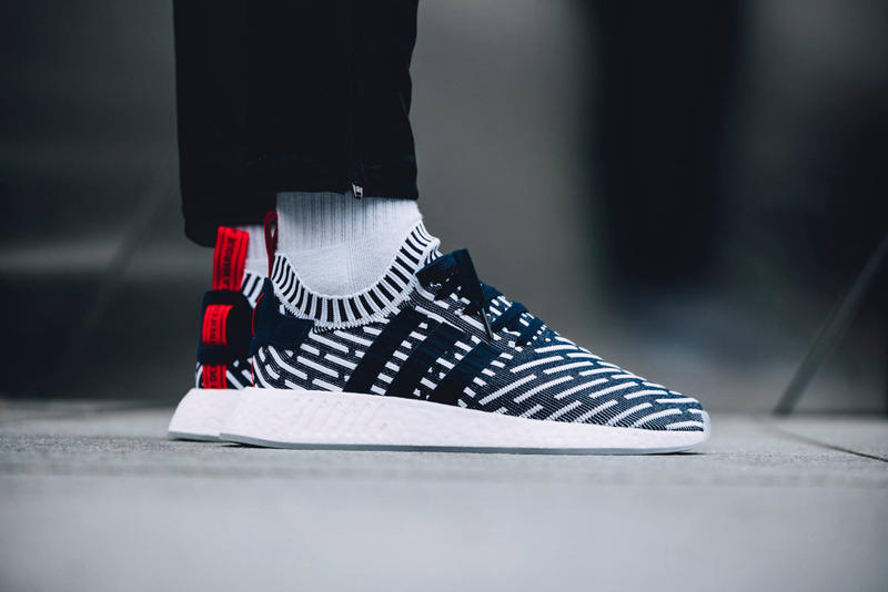 "adidas Originals NMD R2 ""Collegiate Navy"" Closer Look"