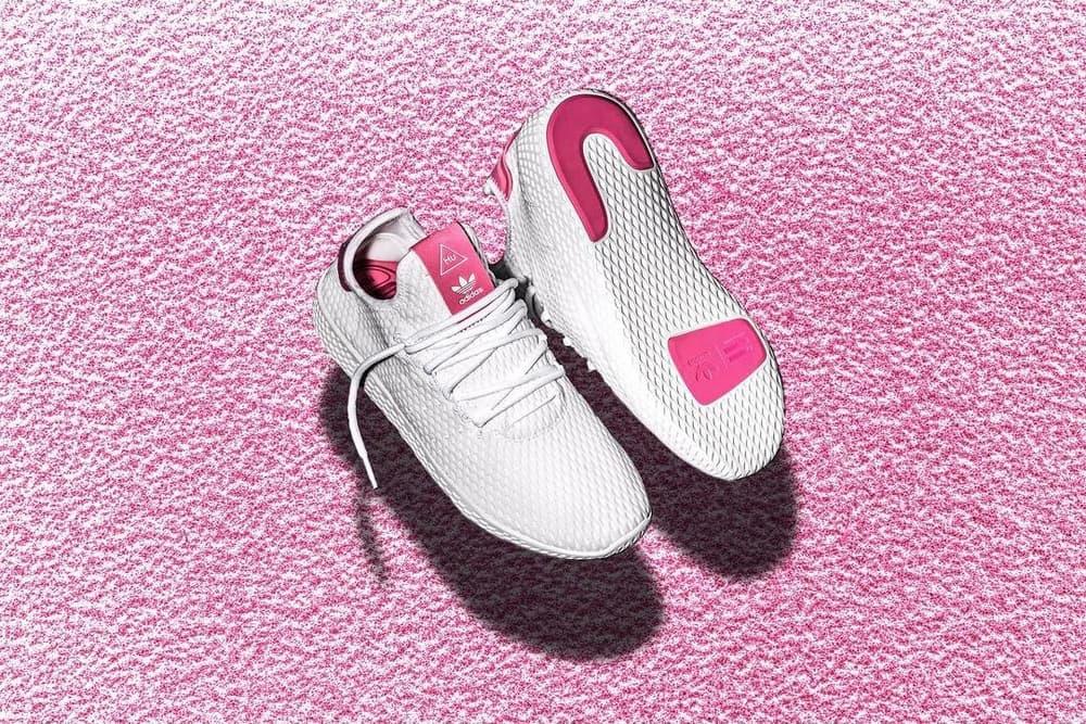 adidas Originals x Pharrell Human Race White/Pink