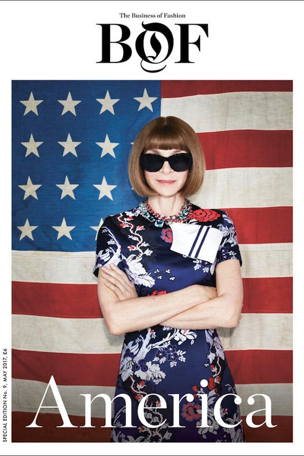 BoF Issue 09: The America Issue Anna Wintour