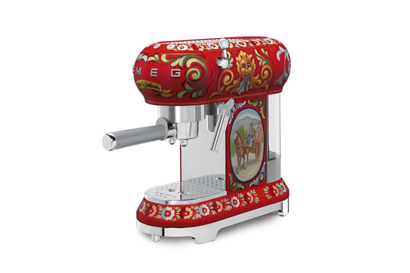 Dolce & Gabbana x SMEG 2017 Kitchen Appliances