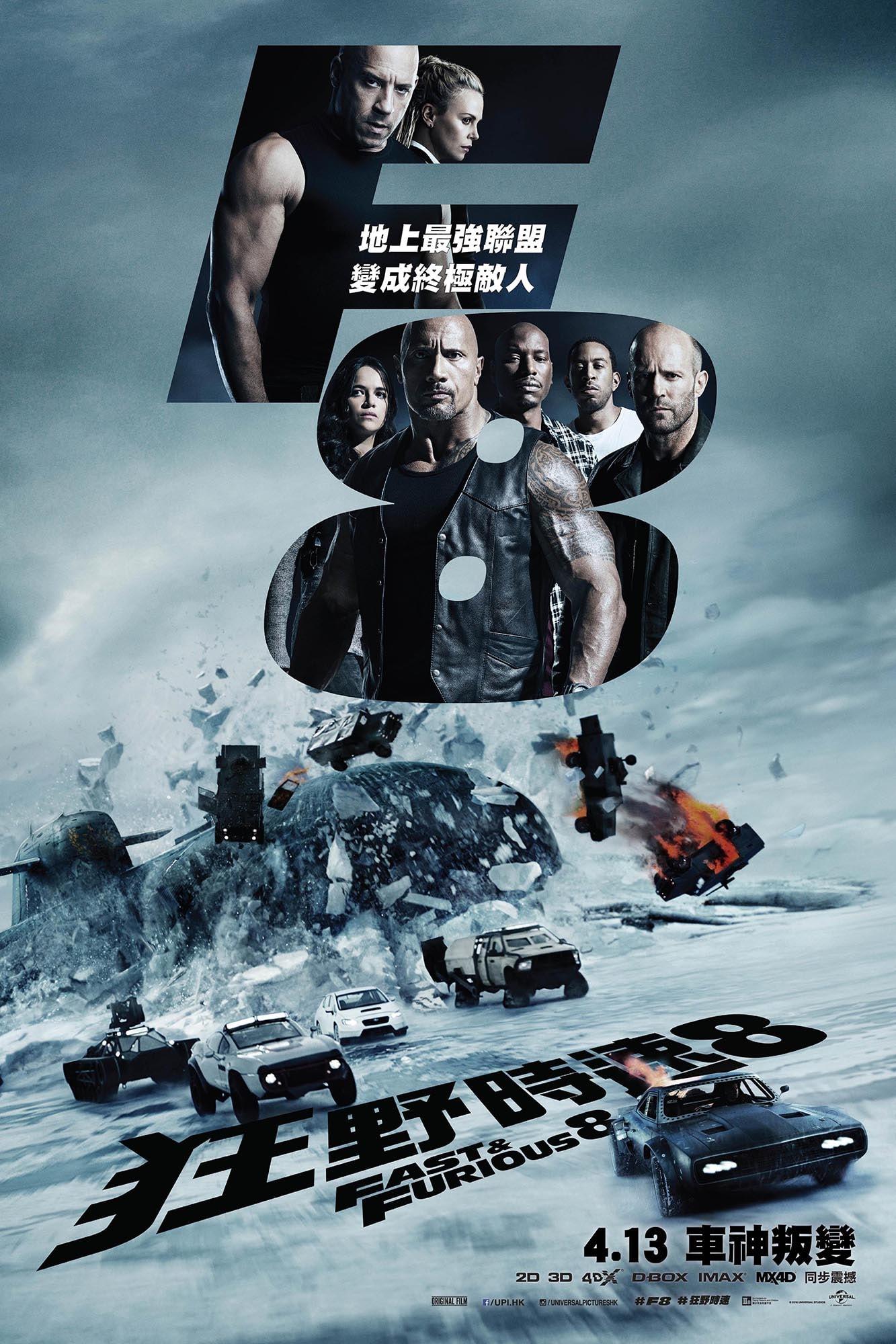 《狂野時速 8》IMAX 特別場戲票無料放送