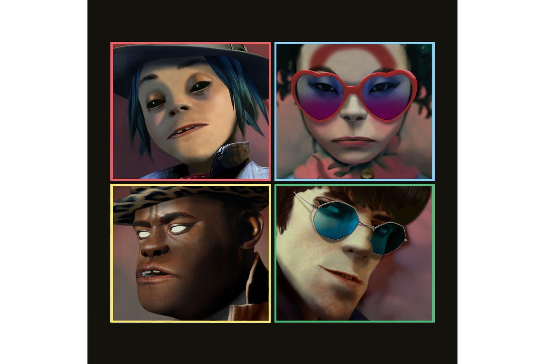 Gorillaz 最新專輯《Humanz》完整試聽