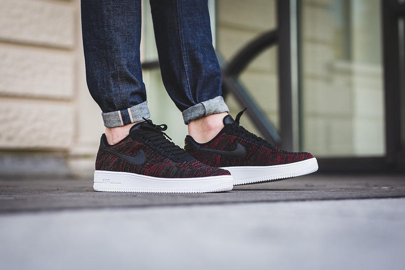 new style 5be1e 02033 On-Feet Look Air Force 1 Ultra Flyknit Low Multi-Colored