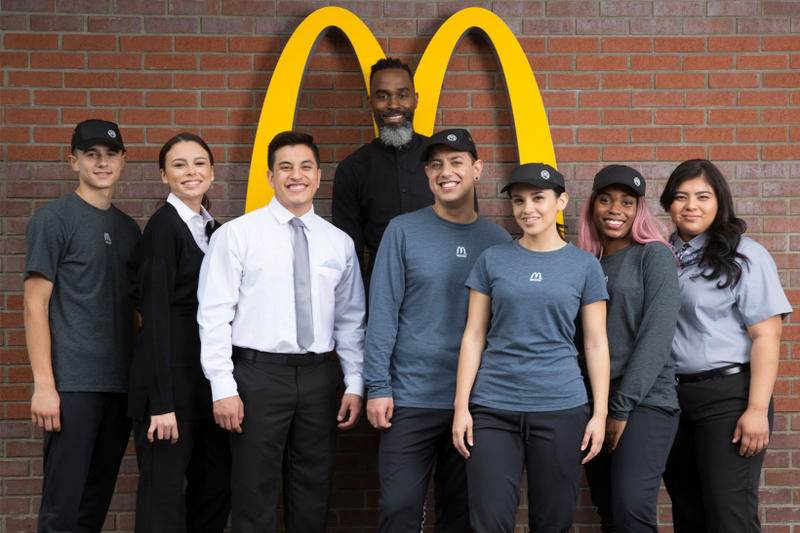 McDonald's Debuts New Uniforms by Waraire Boswell