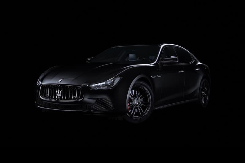 "Maserati Ghibli ""Nerissimo"" Edition"