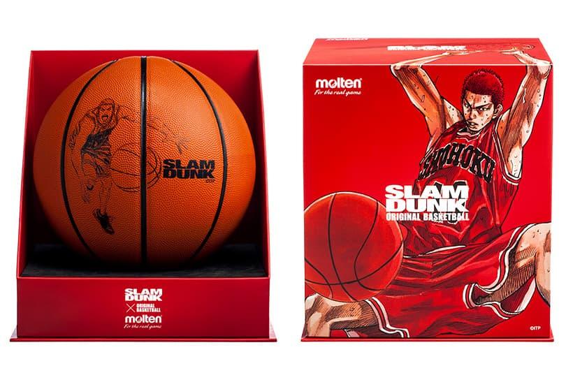 《Slam Dunk》x molten 推出限量版櫻木花道籃球