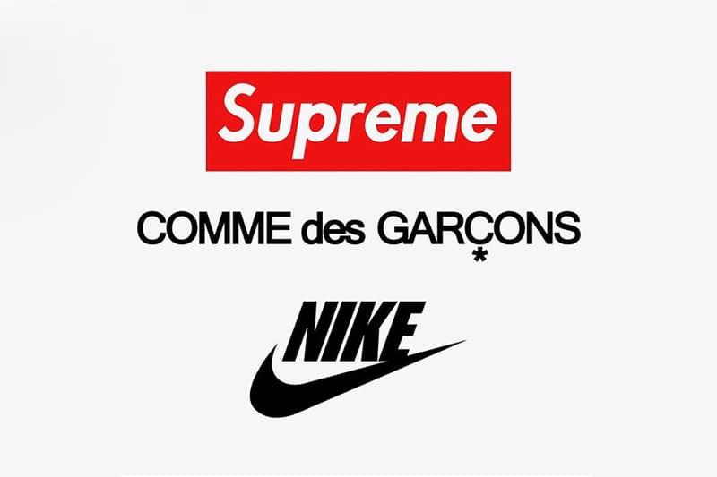 傳聞 Supreme 將與 COMME des GARÇONS 及 Nike 帶來三方聯名
