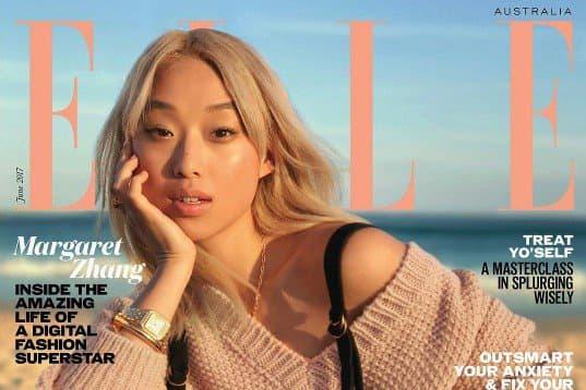 澳洲知名 Blogger Margaret Zhang 以 iPhone 拍攝照片登上《ELLE》封面