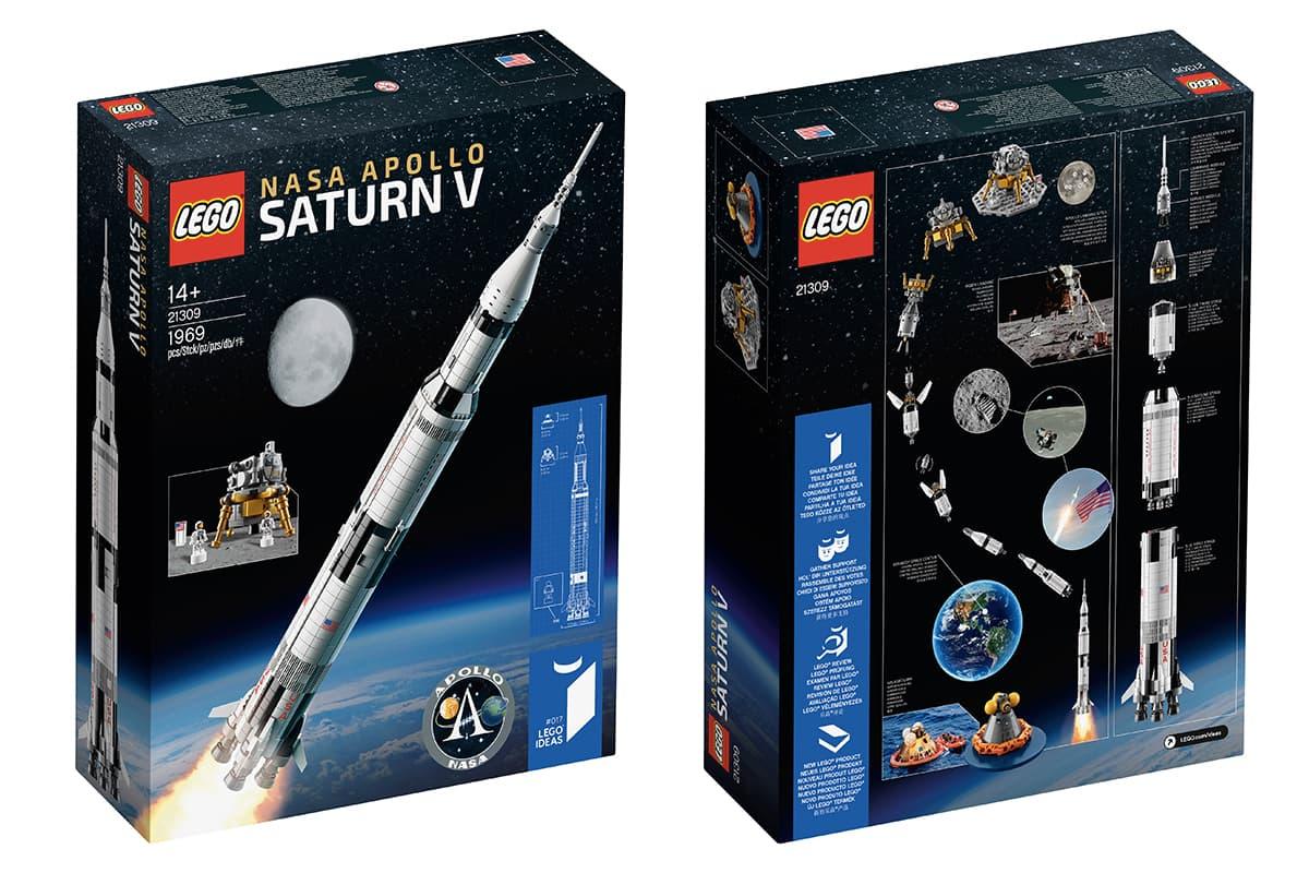 LEGO Apollo Saturn V 紀念版積木連同香港區太空主題限定商品販售情報!