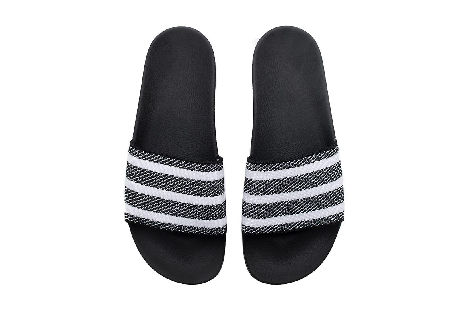 adidas 推出Primeknit 版adilette 拖鞋