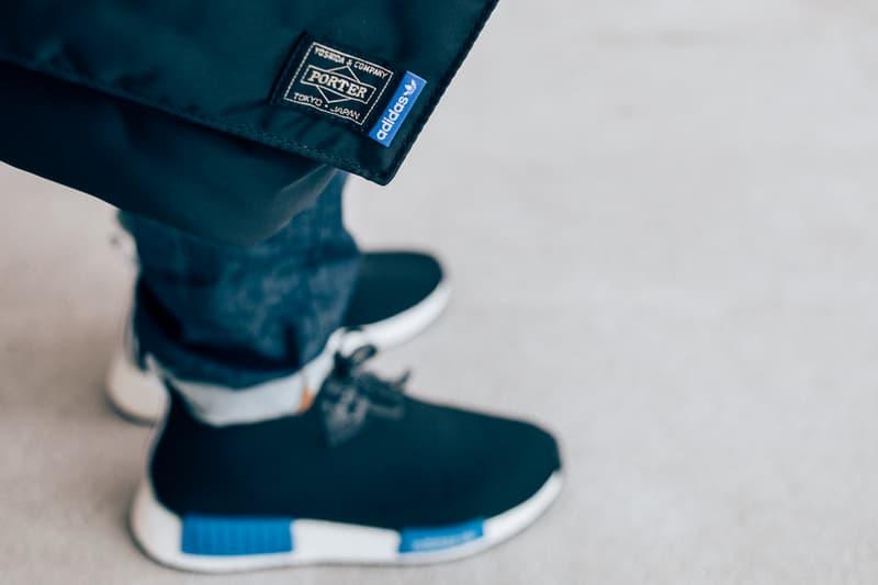 adidas Originals x PORTER NMD Chukka Helmet Bag Closer Look