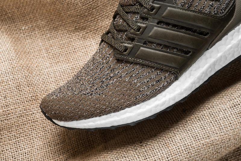 """adidas UltraBOOST 3.0 """"Trace Olive"""" Closer Look"""