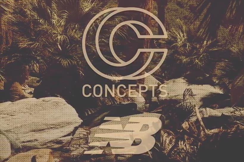CONCEPTS 將與 New Balance 攜手推出聯乘系列