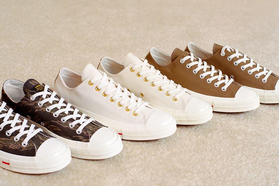 Converse x Carhartt WIP Chuck '70 聯乘鞋款企劃釋出