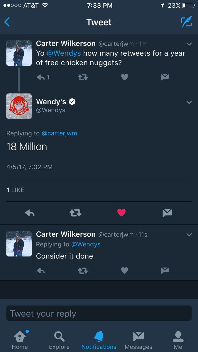 「雞塊男」打敗奧斯卡豪華自拍成為全球 Twitter 最高轉推紀錄保持者