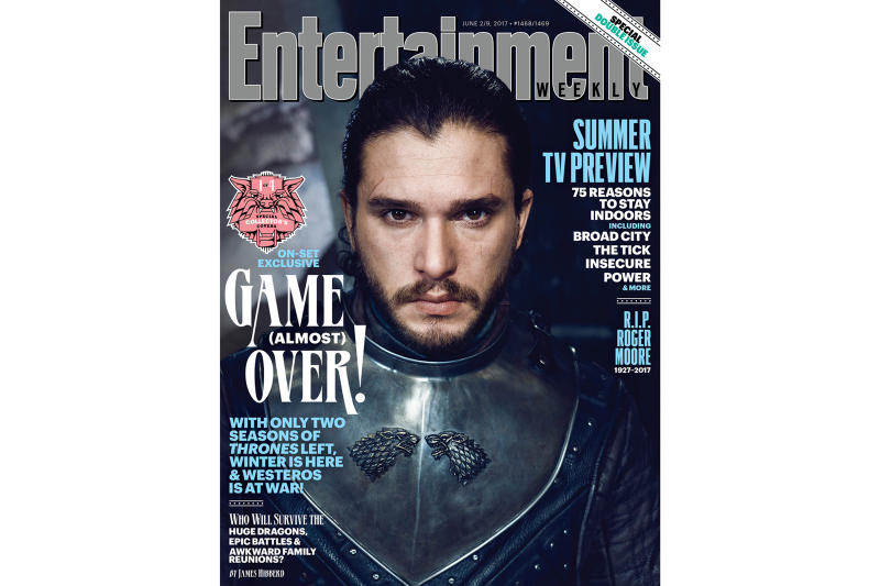 Game of Thrones Season 7 Entertainment Weekly Cover
