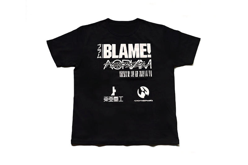 ACRONYM  'BLAME!' T-Shirt Collection