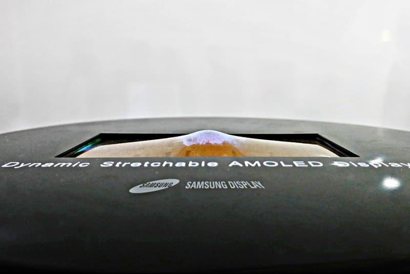 強中之手 - Samsung 最新 OLED 屏幕擁有上下伸縮功能