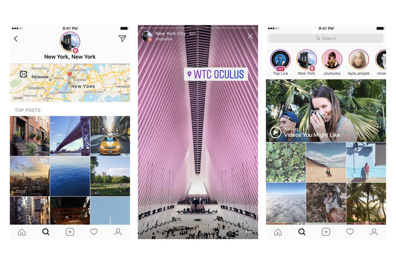 Instagram Location & Hashtag Stories