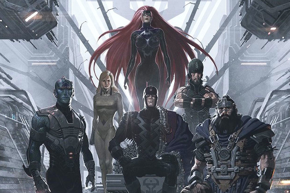 Fans 對造型有意見?《Marvel's Inhumans》首張劇照登場