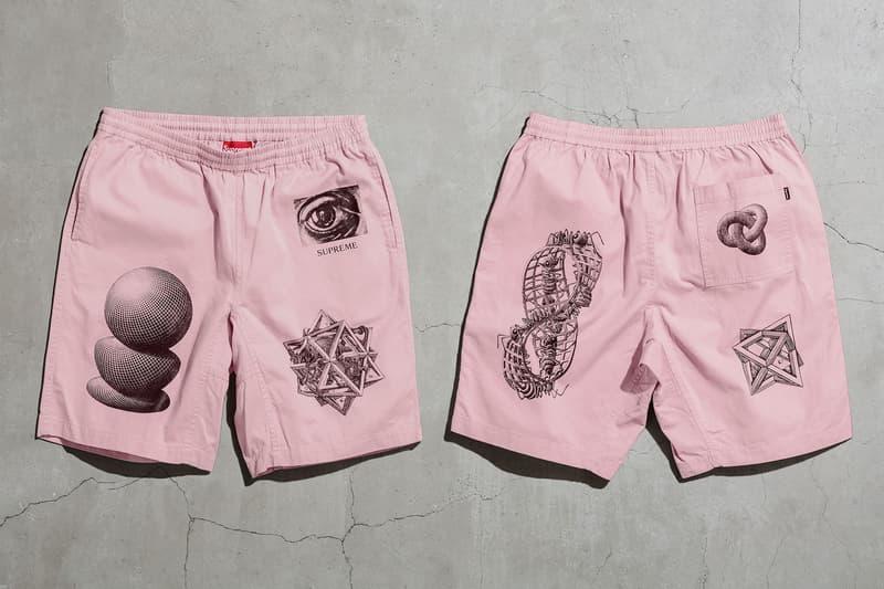 MC Escher x Supreme 2017 Spring/Summer Collection