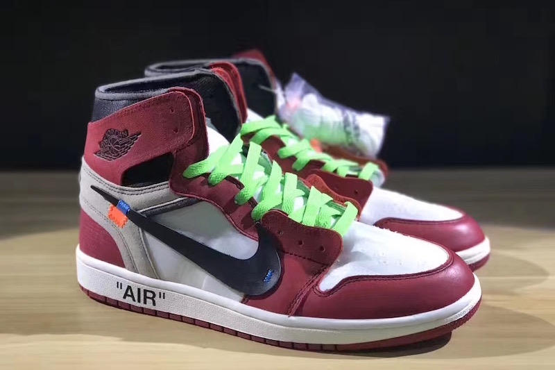 OFF-WHITE x Air Jordan 1 Colored Laces & Release Info