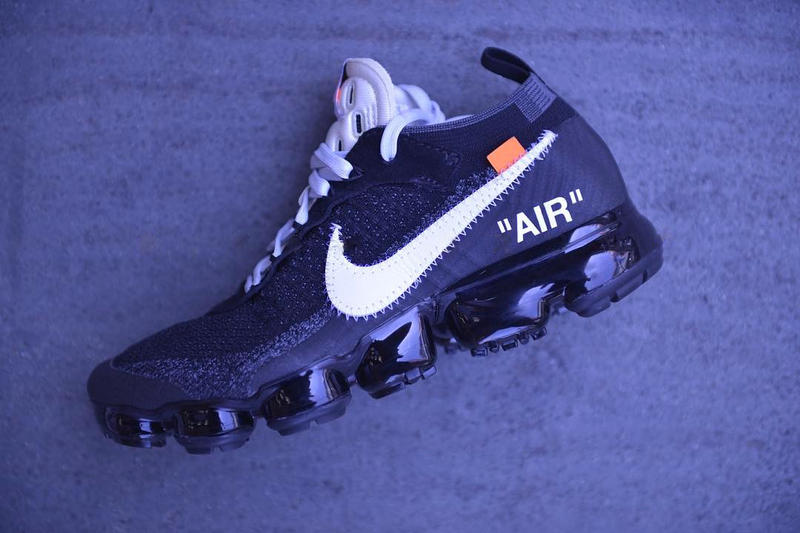 OFF-WHITE x Nike Air VaporMax Closer Look