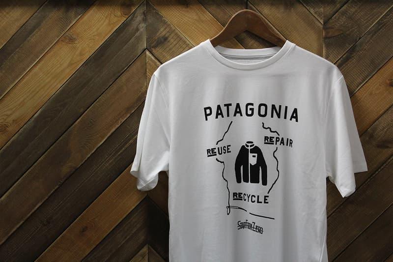 Patagonia x Start From Zero 手印絲網 T-Shirt 無料放送