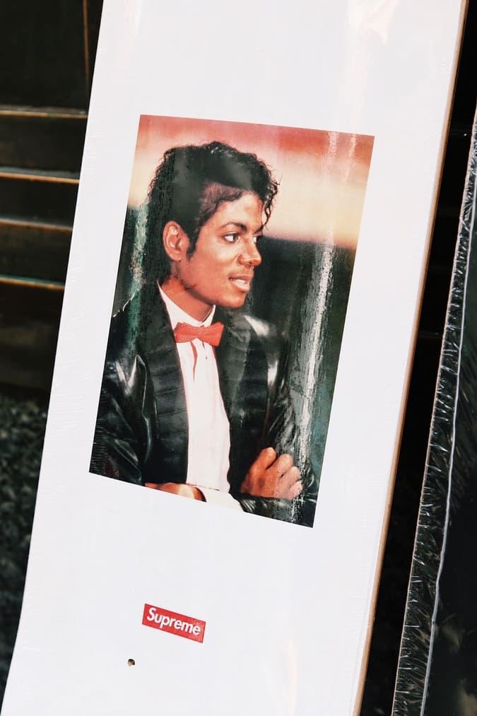 Supreme x Michael Jackson London Highlights