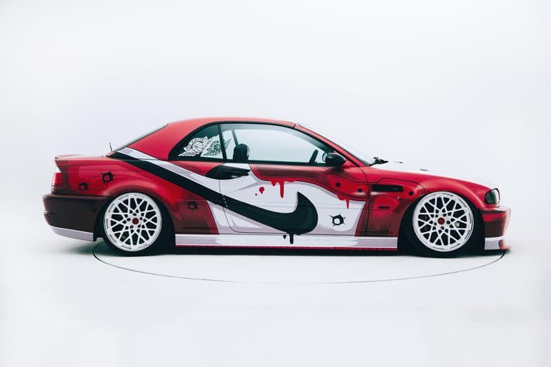 400ML x iAcro Air Jordan 1 Custom Car