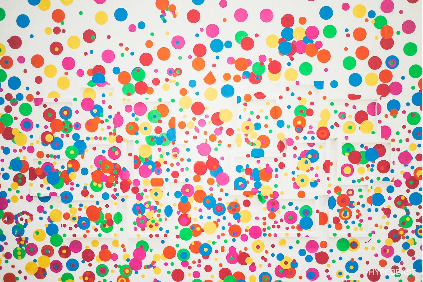 8 件草間彌生《Life Is The Heart Of A Rainbow》個展務必留意的展品