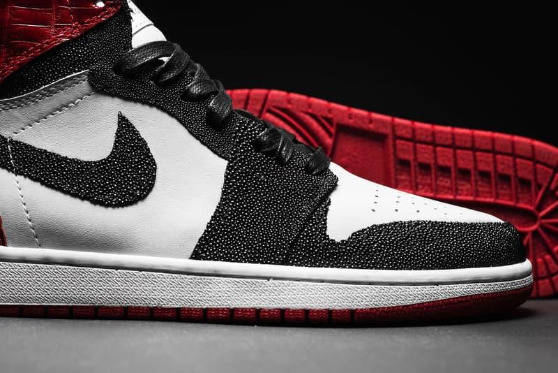 "Air Jordan 1 ""Chicago"" Custom The Shoe Surgeon"