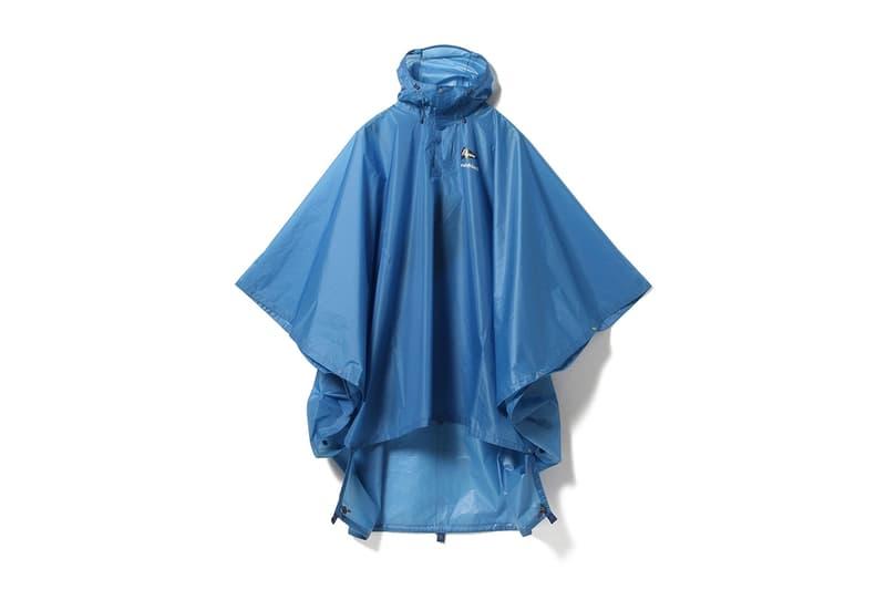 Pilgrim Surf + Supply x Mont-Bell 便攜式斗篷雨衣