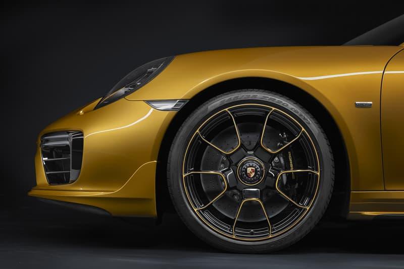 Porsche 911 Turbo S 限量版車型
