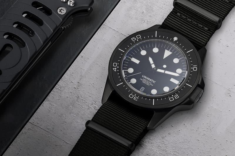 Unimatic 意大利製限量潛水手錶
