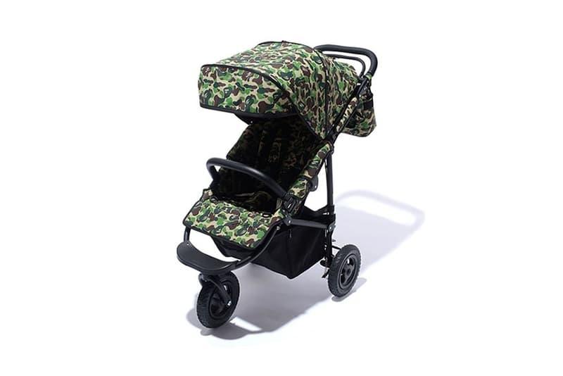 Air Buggy x BAPE ABC Camo Stroller