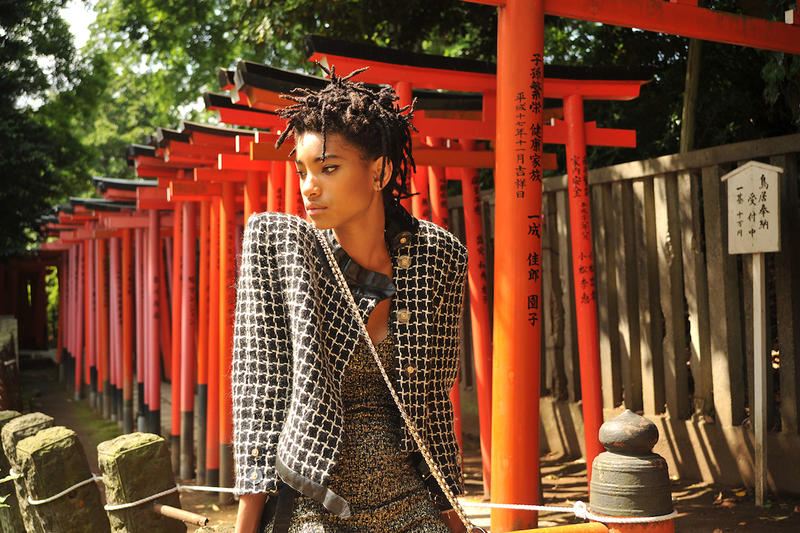 Chanel Gabrielle Willow Smith Tokyo