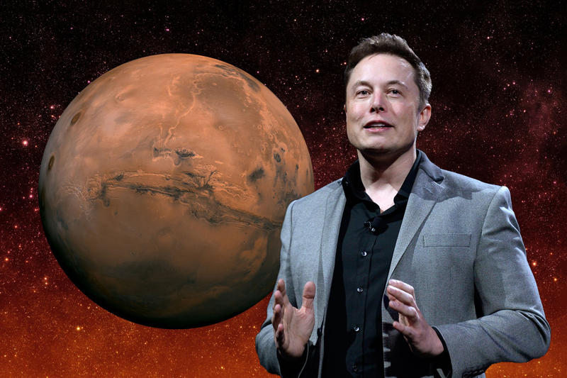 Elon Musk Wants Cheaper Mars Travel