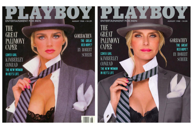 《Playboy》封面女郎重拍當年舊照