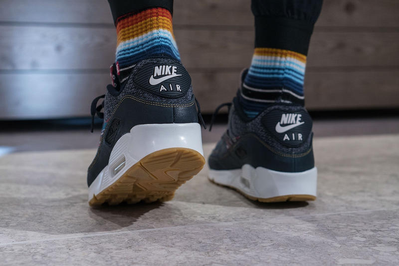 "Nike Air Max 90 Premium ""Afro Punk"" on Foot"
