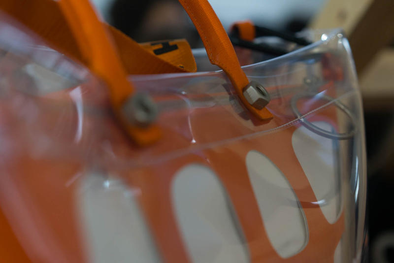 Off-White x Heron Preston 巴黎時裝周釋出友好聯名袋款