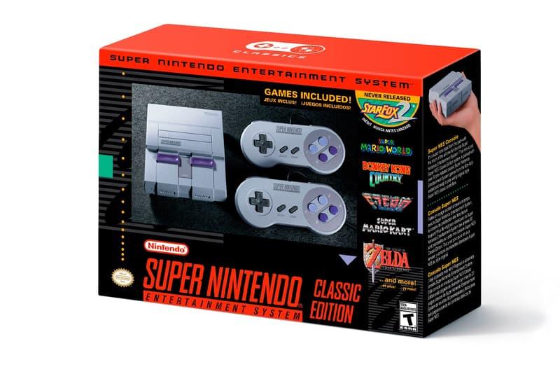經典回歸-Nintendo 宣布推出 MINI 超級任天堂遊戲機